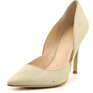 Charles By Charles David Parker Pointed Toe Leather Heels