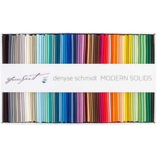 """Modern Solids-Denyse Schmidt 18""""X21"""" Fat Quarters- https://ak1.ostkcdn.com/images/products/is/images/direct/d268ce33bc606ba238854c084298a0322f629240/Modern-Solids-Denyse-Schmidt-18%22X21%22-Fat-Quarters-.jpg?impolicy=medium"""