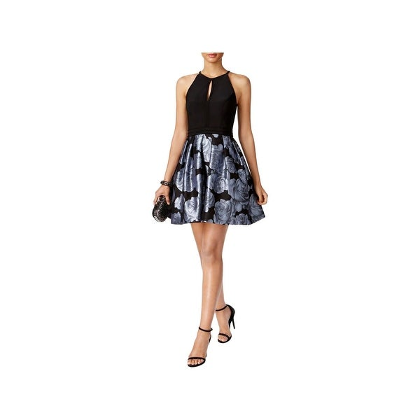 1d686b1b90 get shop xscape womens semi formal dress floral print halter free shipping  on orders over 45
