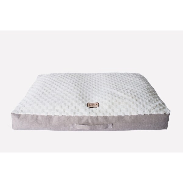 Armarkat Mat Model M12HMB/MB-M Medium With Handle, Dog Crate Mat with Poly Fill Cushion & Removable Cover - M. Opens flyout.