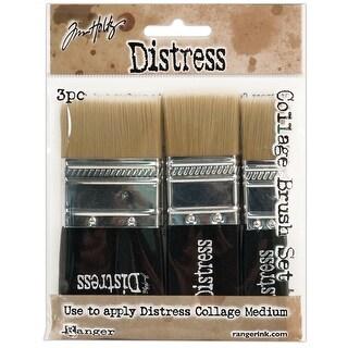 "1 Each Of 3/4""; 1-1/4"" & 1-3/4"" - Tim Holtz Distress Collage Brush Assortment"