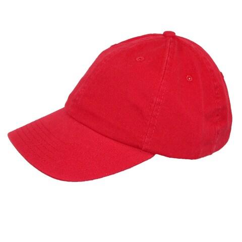ValuCap Kids' Cotton Twill Solid Color Summer Baseball Cap