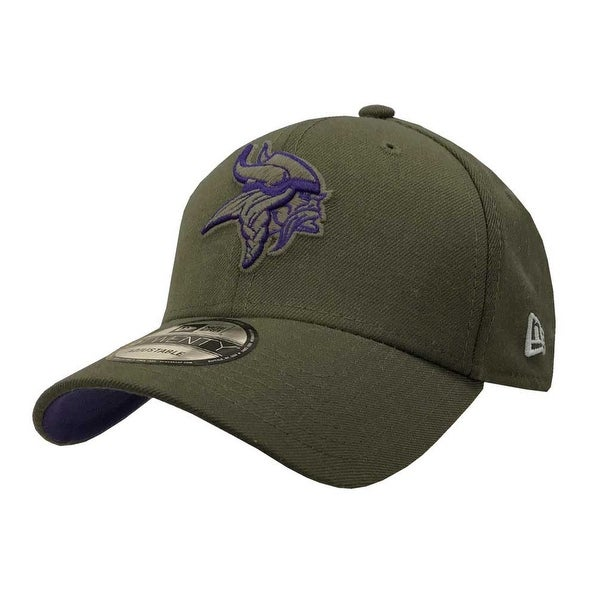 9b264f0ff Shop New Era 2018 NFL Minnesota Vikings Salute to Service Baseball Cap 920  Military - Free Shipping On Orders Over  45 - Overstock - 23577501