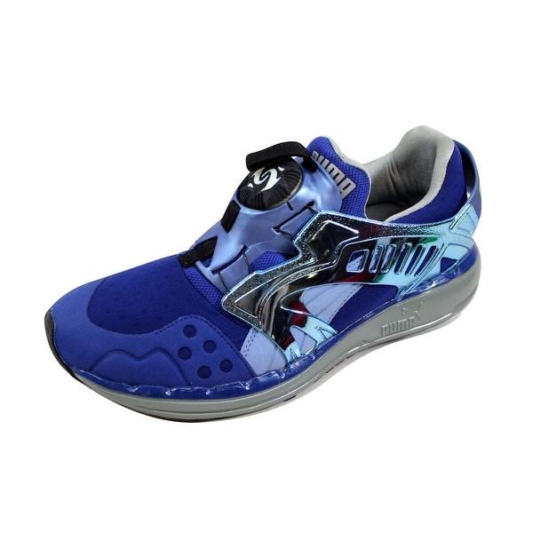 990ae001316 Shop Puma Men s Future Disc Lite T Mazarine Blue Forever Blue 356389 ...