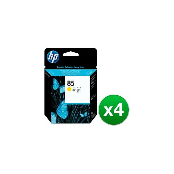 HP 85 Yellow DesignJet Printhead (C9422A) (4-Pack)