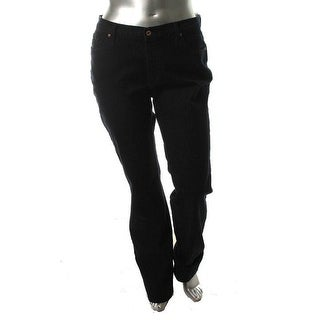 James Jeans Womens Straight Leg Jeans Stretch Denim - 14