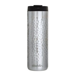 Aladdin 10-02309-018 Insulated Double Wall Tumbler, Stainless Steel, Silver, 16 Oz