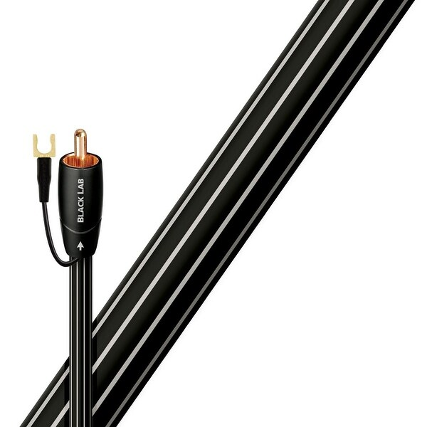 AudioQuest Black Lab RCA Male to RCA Male Subwoofer Cable - 26.25 ft. (8m)