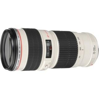 Canon EF 70-200mm f/4L USM Lens (International Model)
