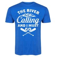 The River Is Calling  - Adult Short Sleeve Tee