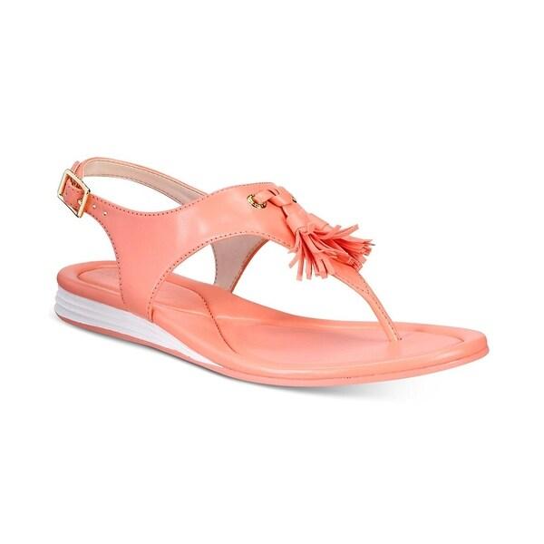 Cole Haan Womens Rona Split Toe Casual Slingback Sandals