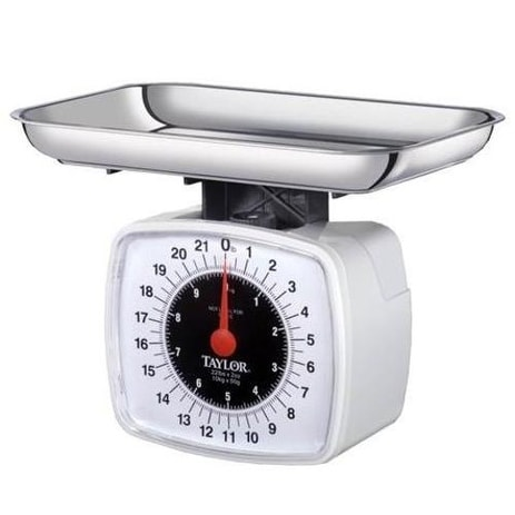 Taylor 38804016T Kitchen Food Scale, 22 lbs