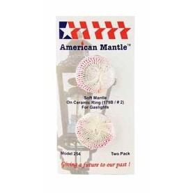 American Mantle 254 Gaslight Mantle, Pk/2