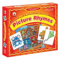 Game I Spy A Mouse In The House Ages 4 & Up Picture Rhymes