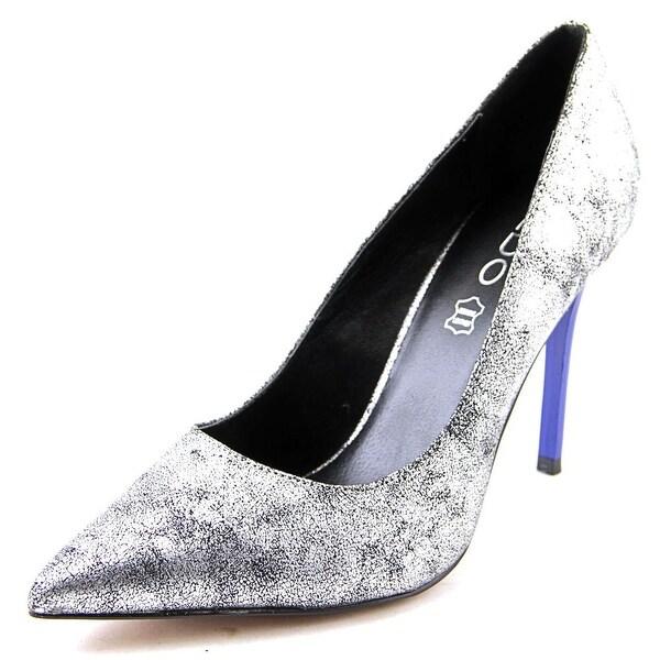 Shop Aldo Looma Women Pointed Toe Leather Silver Heels - Free ... 00511231feb3