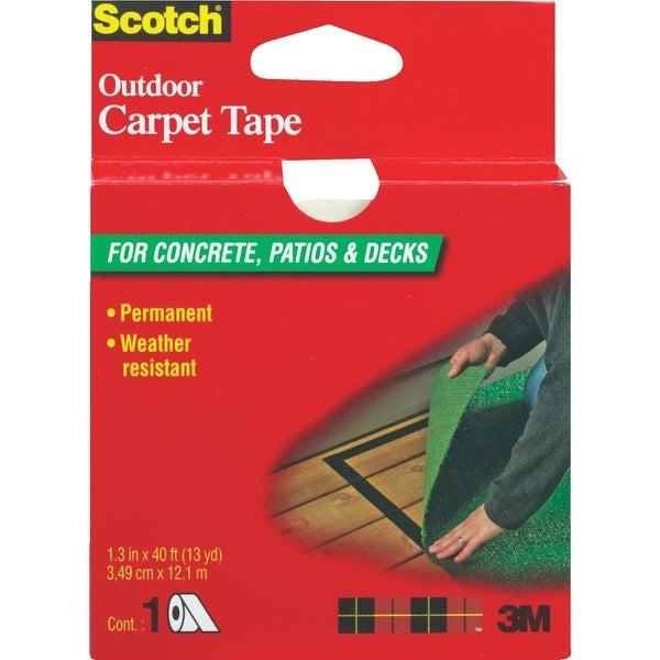 "3M 1.38""X40'Out Carpet Tape"