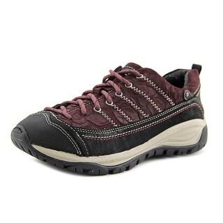 Taos Motion Women Leather Burgundy Fashion Sneakers