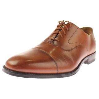 Cole Haan Mens Garrett Oxfords Leather Toe Cap - 10.5 medium (d)