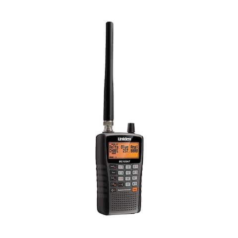 Uniden BC125AT Bearcat Handheld Scanner w/ Civilian & Military Airbands