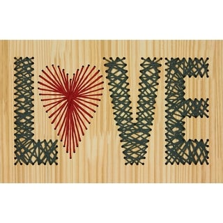 "String Art Kit-Love 14""X9"""