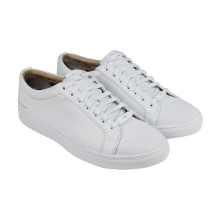 Mark Nason Santee Mens White Leather Lace Up Sneakers Shoes