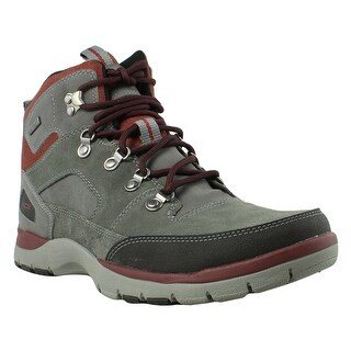 Rockport Mens Gray Hiking Boots Size 8.5