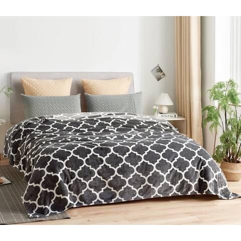 Super Soft Printed Fleece Blanket