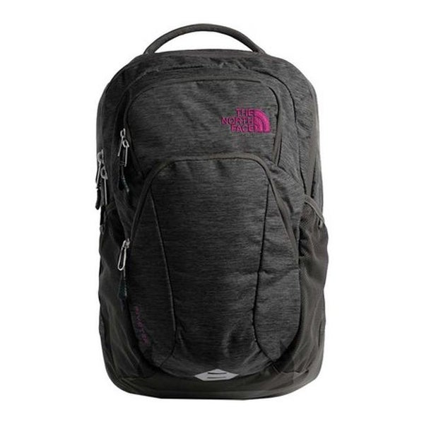 5e9a9e24355e Shop The North Face Women s Pivoter Backpack Asphalt Grey Dark  Heather Dramatic Plum - US Women s One Size (Size None) - Free Shipping  Today - Overstock - ...