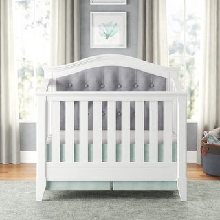 Magnolia Upholstered 4-in-1 Convertible Crib