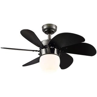 "Westinghouse 7226100 Turbo Swirl Cal 30"" 6 Blade Hanging Indoor Ceiling Fan with"