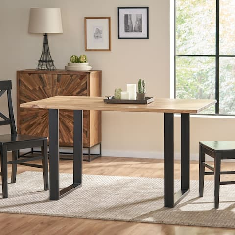 Antonio Acacia Wood Dining Table by Christopher Knight Home