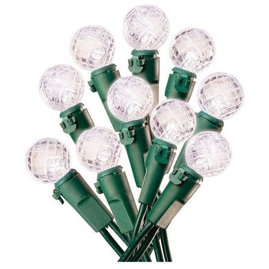 Celebrations 11906-71 Christmas Decoration Battery Operated Globe Light Set, 30 Lights