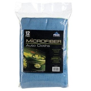 "Peak PKC0FY Microfiber Auto Cloths, 12""x16"""