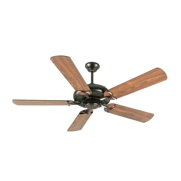 """Craftmade K10854 Civic 52"""" 5 Blade Energy Star Indoor Ceiling Fan - Blades Included - Oiled Bronze"""