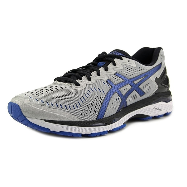 Asics Gel Kayano 23 Men Silver/Imperial/Black Running Shoes