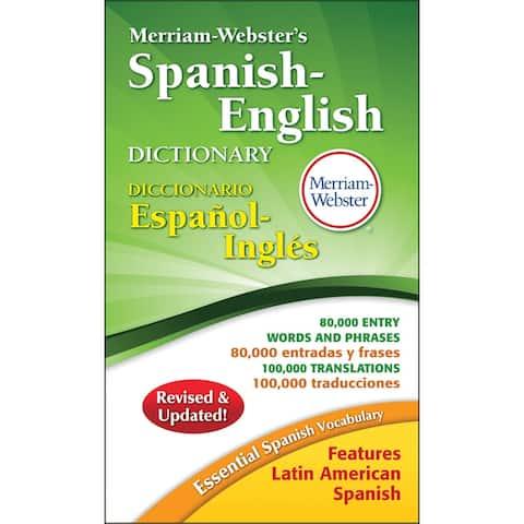 Merriam-webster (3 ea) merriam websters spanish 8248bn