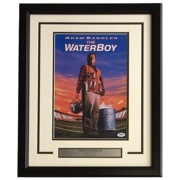 b557d25a11d Adam Sandler Signed Framed 11x14 The Waterboy Bobby Boucher Photo PSA  AD65877