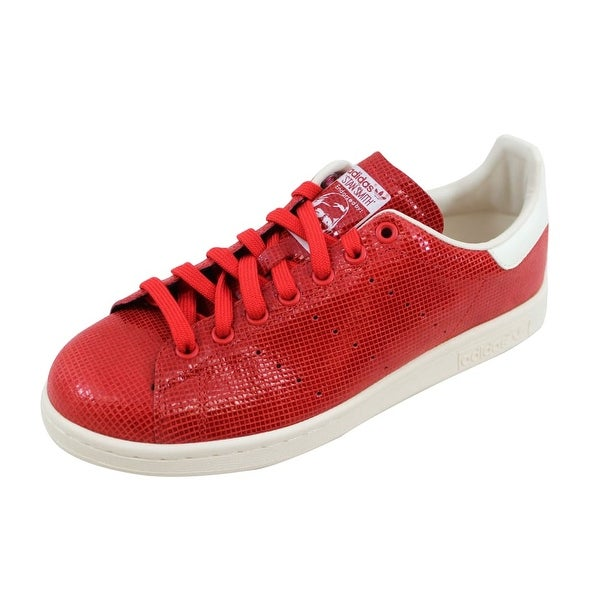 quality design 055ee c396f Shop Adidas Women's Stan Smith Red/Red-White Size 9.5 - Free ...