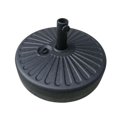22kgs Plastic umbrella base with filling water