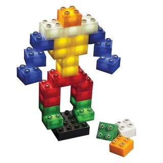 LightStax - LED Light Up Building Blocks - 36 Piece Set