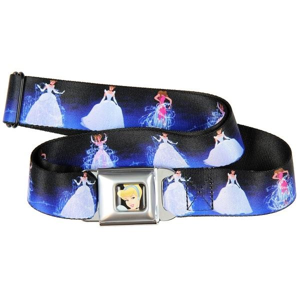Disney Cinderella Magical Makeover Seatbelt Belt-Holds Pants Up
