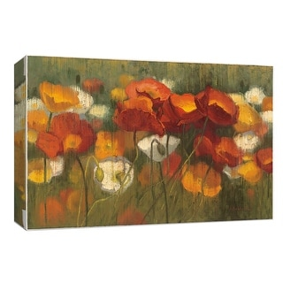 "PTM Images 9-153590  PTM Canvas Collection 8"" x 10"" - ""The Power of Red II"" Giclee Flowers Art Print on Canvas"