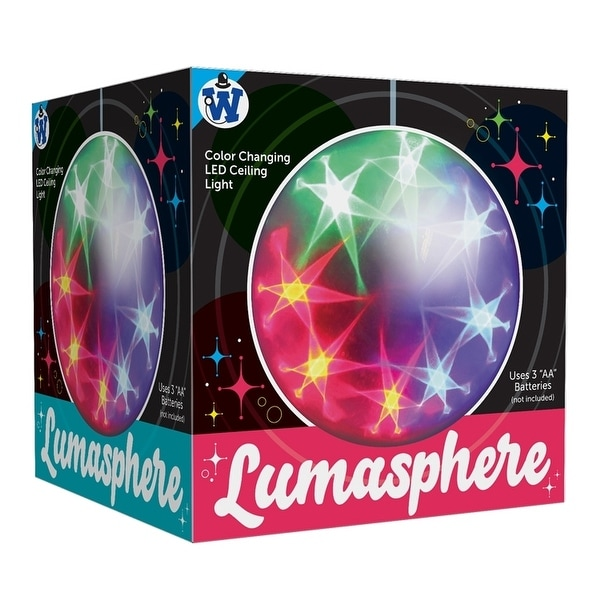 Westminster Inc Lumosphere Color-Changing Ceiling Light