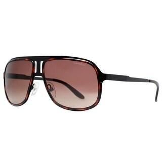 CARRERA Aviator 101/S Unisex KLS J6 Black Havana Brown Gradient Sunglasses - 59mm-14mm-135mm