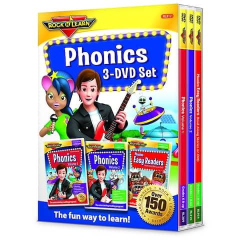 Rock N Learn Phonics 3 Dvd Set