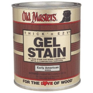 Old Masters 81004 Gel Stain Pickling White 1 Quart