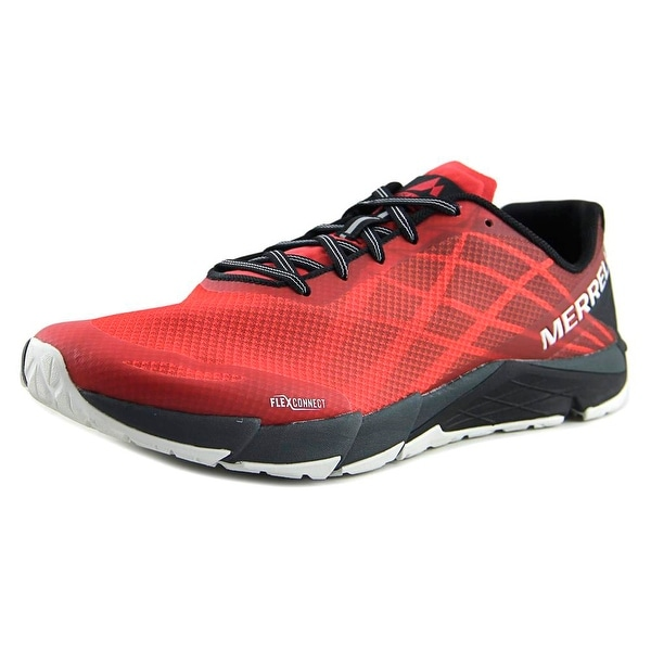 Merrell Bare Access Flex Men Round Toe Synthetic Red Trail Running