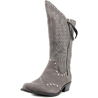 Coconuts By Matisse Winchester Pointed Toe Canvas Western Boot