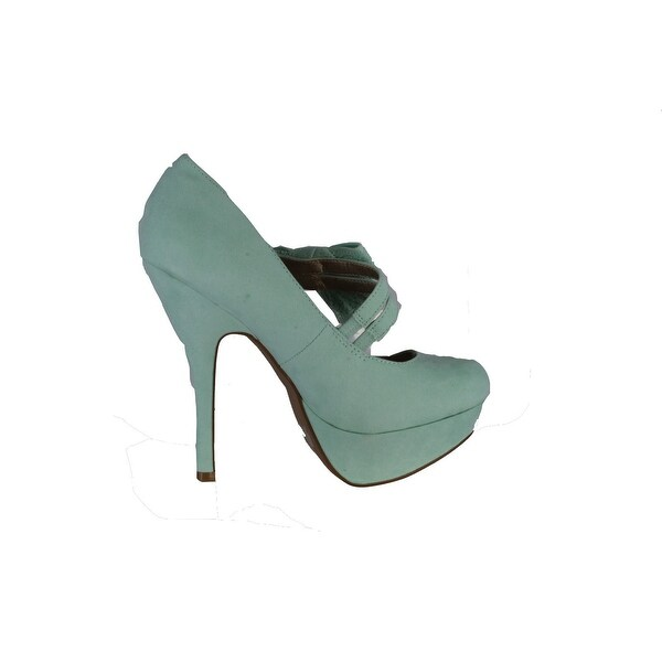 Qupid Women's Onyx-170 Pumps Shoes - Sage