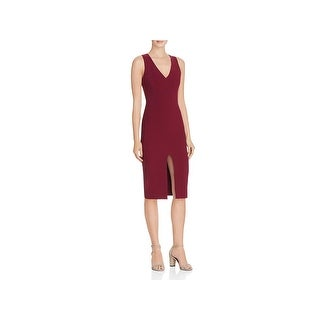 Likely Womens Park Wear to Work Dress Sleeveless Front Slit